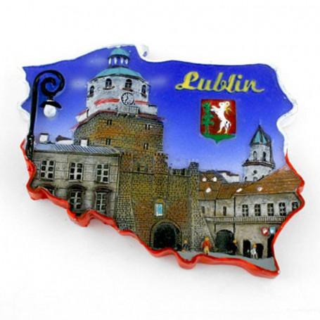 Aimant contour Lublin