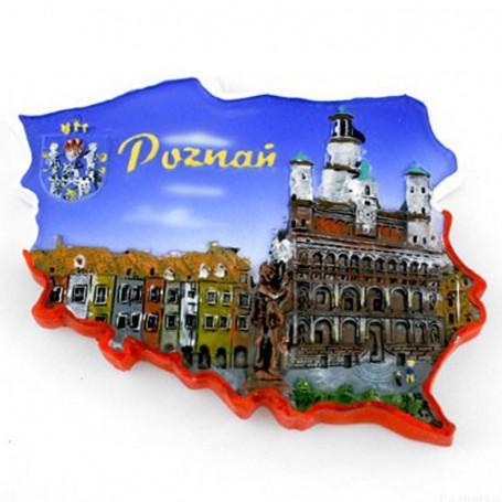 Aimant contour Poznań
