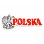Patch brodé Pologne