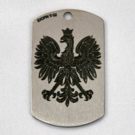 Titan Dog Tag Adler