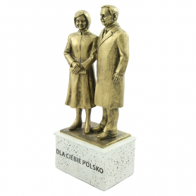 Statuette des Präsidenten Paares