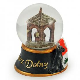 Snow globe 45 mm - Kazimierz Dolny