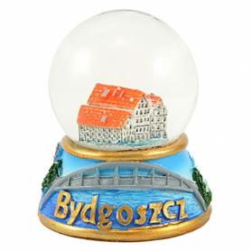 Snow globe 45 mm - Bydgoszcz