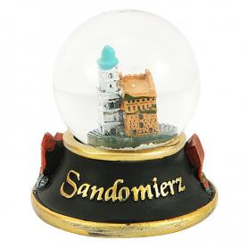 Snow globe 45 mm - Sandomierz