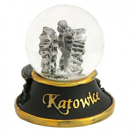 Boule de neige 45 mm - Katowice