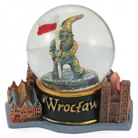 Snow globe 60 mm - Wroclaw