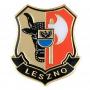 Botones, escudo de armas pin Leszno