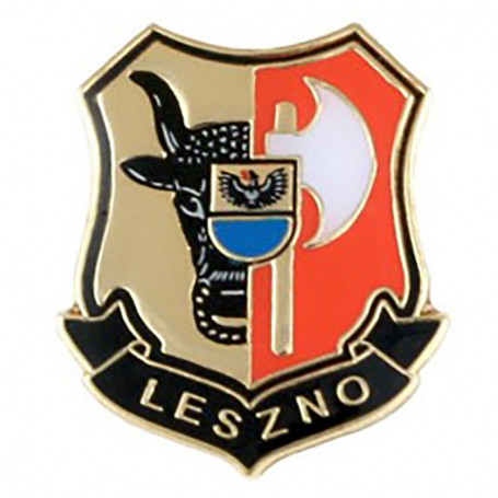Boutons, épingle blason Leszno