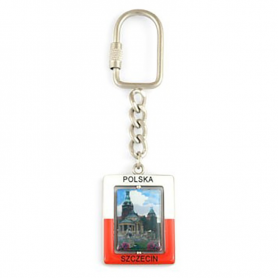 Rectangular Keychain Szczecin