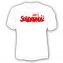T-shirt Solidarité - grand lettrage, blanc
