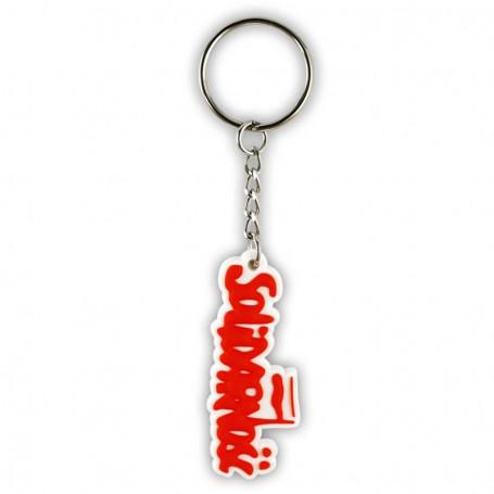 Solidarność gummi nyckelring