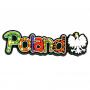 Imán de goma con la palabra Polonia