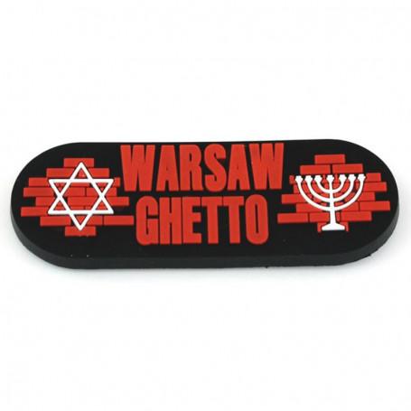 Aimant en caoutchouc - Ghetto de Varsovie