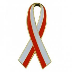 Przypinka, pin flaga wstęga