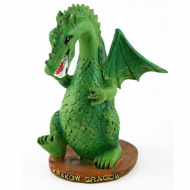 Statuette de dragon, Cracovie