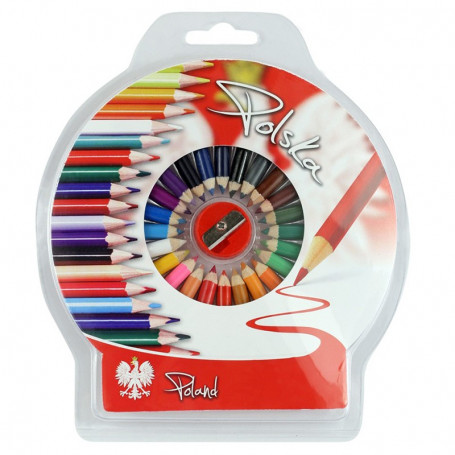 Crayones redondos foto Polonia