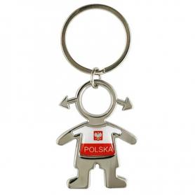 Porte-clés masculin en métal