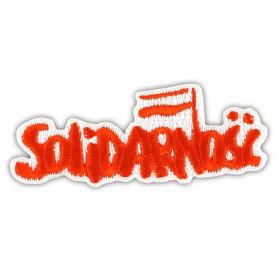 Naszywka haftowana Solidarność