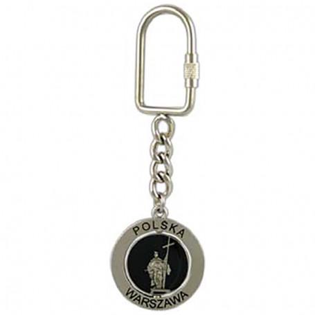"""Metalo raktu pakabukas, pasukamas, """"Zygmunt"""" stulpelis, sidabro matinis"""
