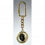 Metal, llavero giratorio, columna de Zygmunt, oro