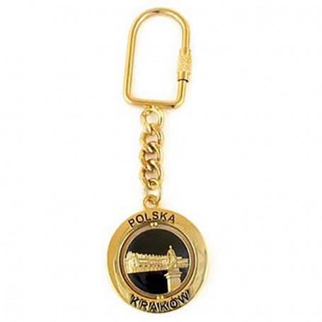 Rotacinis raktu pakabukas Krokuva, Sukiennice, auksas