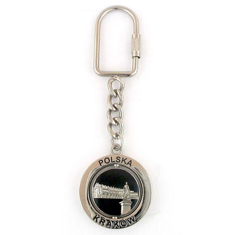 Porte-clés rotatif Cracovie, Sukiennice, nickel