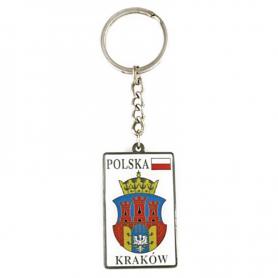 Llavero de metal, escudo de armas, Cracovia