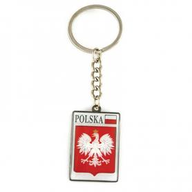 Metalinis raktu žiedas, emblema, Lenkija