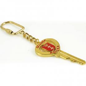 Porte-clés, Gdansk, doré