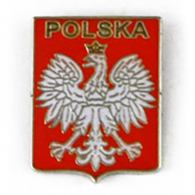 Przypinka, pin Godło Polski