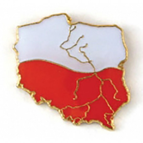 Broche, goupille de contour polonais