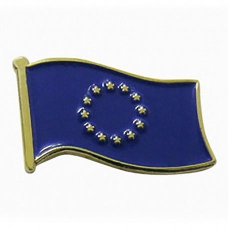 Pin, pin de la bandera de la Unión Europea