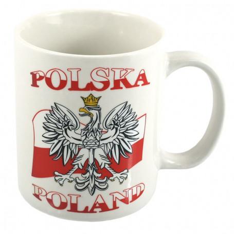 Fehér bögre Lengyelország