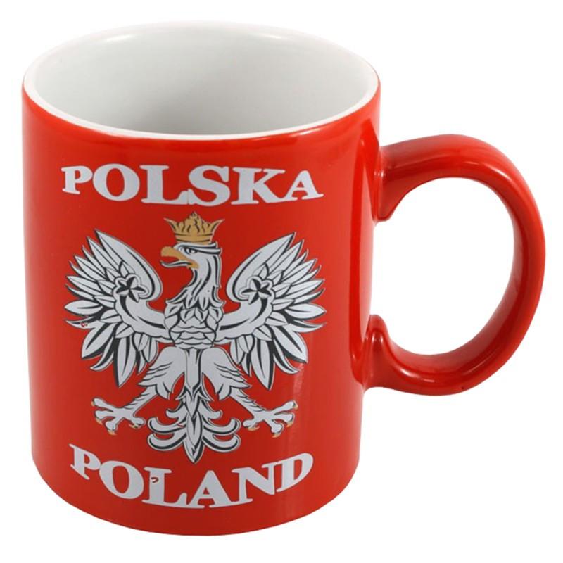 Mug rouge Pologne