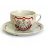 Apvali keramine puodelis Lenkijoje