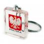 Porte-clés cube acrylique, Pologne