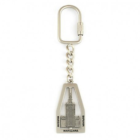 Porte-clés en métal, rotatif, Palais de la Culture