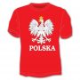Koszulka męska godło, Polska