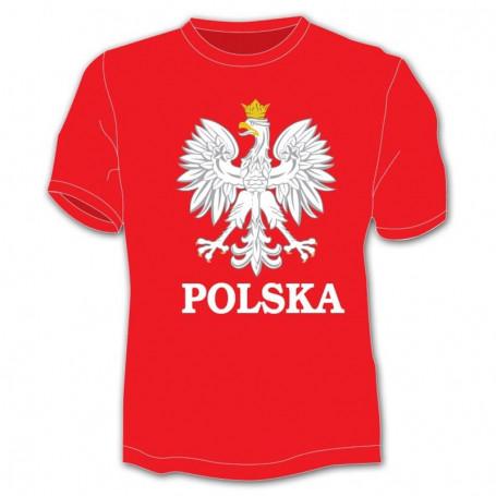 Embleme de t-shirt pour hommes, Pologne