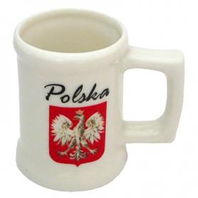 Una taza pequena, Polonia. Emblema