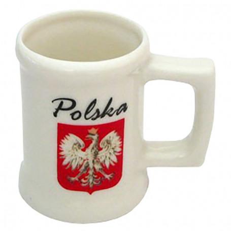 Une petite tasse, Pologne. Embleme