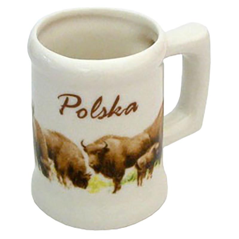Kufel mały – Polska Żubry