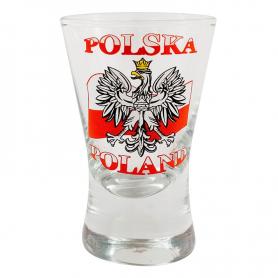 Shot glass X - flag 40 ml
