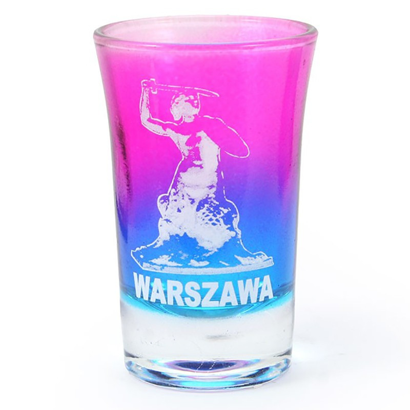 Stiklo vaivorykšte, Varšuva