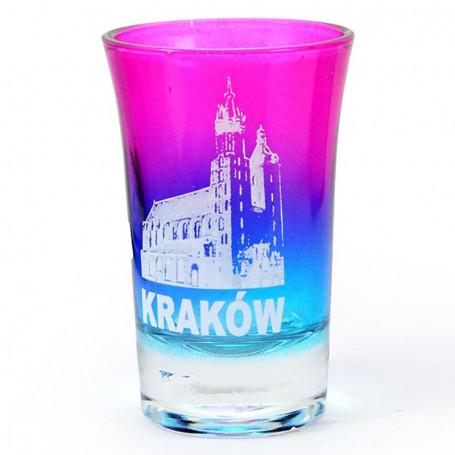 Kieliszek tęczowy, Kraków