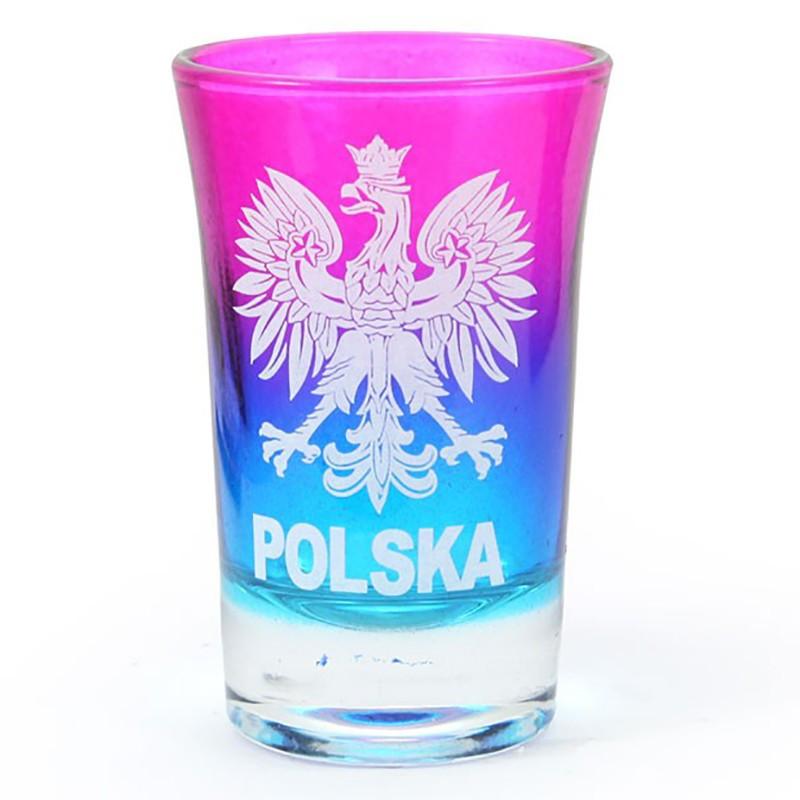 Kieliszek tęczowy, Polska