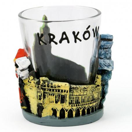 Kieliszek z obudową, Kraków