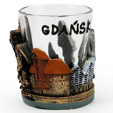Stiklas su bustu, Gdanskas