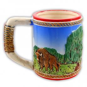 Glazed mug Poland idyll