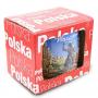 Kubek szkliwiony Polska sielanka